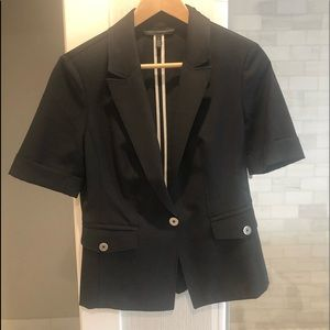 White House Black Market Black blazer-worn once